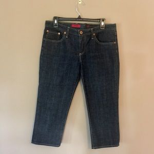 AG Ariano Goldschmied The Crop Dk Wash Jeans 31R
